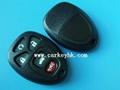 GM 5 button remote cover casing