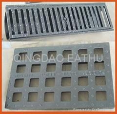 EN124 cast iron manhole cover F900