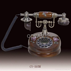 antique wooden telephoneCY-505A