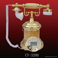 antique resin telephone(CY-320B)