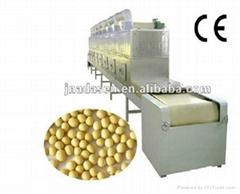 Soybean/mung bean microwave dryer machine