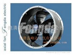 厂家直销圆筒排风扇散热风扇外转子轴流风扇