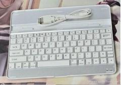 New Aluminum Ipad Bluetooth Wireless Keyboard - ModelA1314