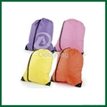 PP non woven drawstring backpacks bag