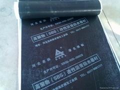 SBS-Modified Asphalt waterproof Membrane PE