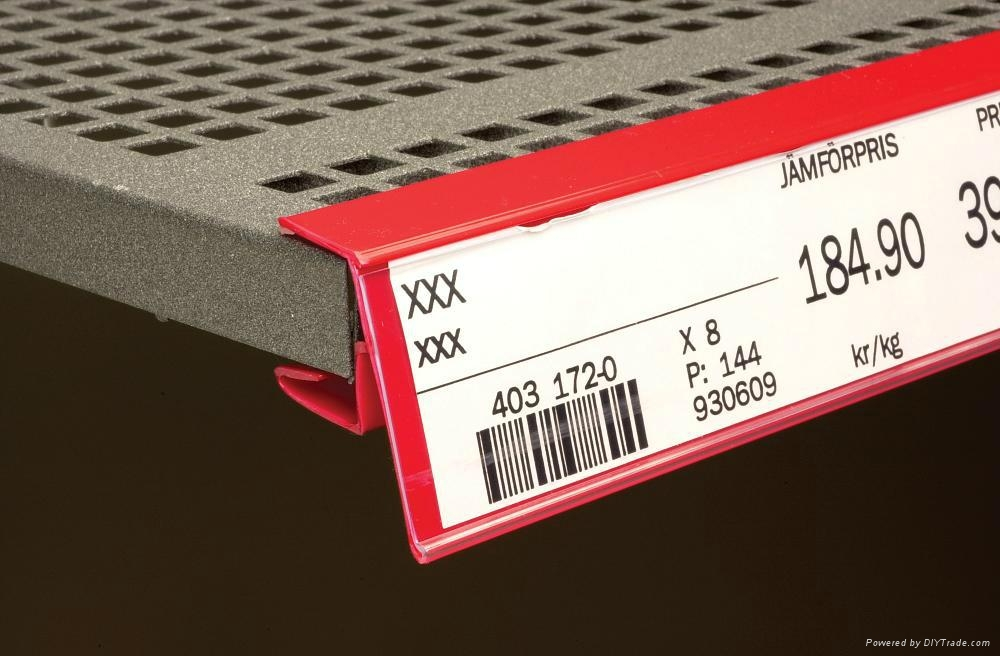 Price Label Holder/Datastrip for Wooden Shelves - ANT39 - XUHUI (China ...