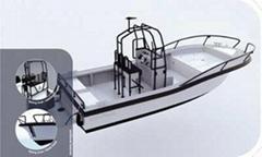 歐倫鋁合金工作船