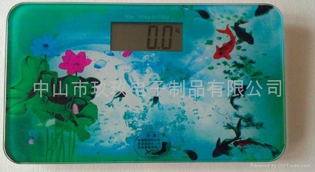 JE901-4电子人体秤 1