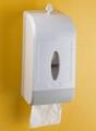 Twin Roll Toilet Tissue Dispenser
