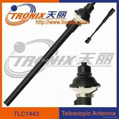 4 section car telescopic antenna