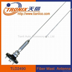 Car fiber mast antenna/ Car am/fm radio antenna/Car antenna accessory