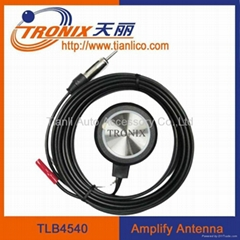 Adhesive active windscreen car electronic antenna