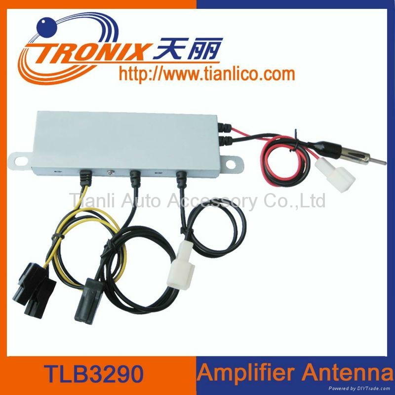 Electronic car antenna amplifier car antenna auto am fm radio antenna  1