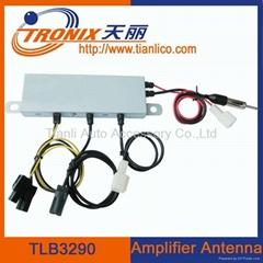 Electronic car antenna amplifier car antenna auto am fm radio antenna