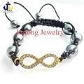 Cystal Eight Figure Bracelet JL-SL058