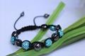 Crystal Ball Shamballa Bracelet JL-SL024 3
