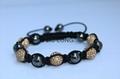Crystal Ball Shamballa Bracelet JL-SL024 4