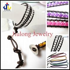 Glass Bead Bracelet JL-S