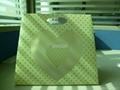 pp heart shaped bag for gift