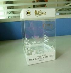 transparent box for chocolate