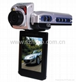 1080P 2.5inch screen 4xDigital Zoom car dvr recorder  3