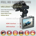 2.8 inch 1080 full hd car black box DVR