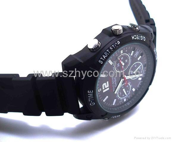 HD waterproof IR 1080P watch camera 16GB 5