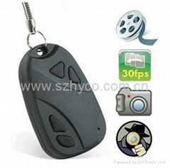 Mini DVR 808 Car Key Chain Micro Camera