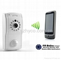 PIR Motion Detection Security Monitor