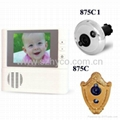 2.8 inch electronic peephole viewer with 3X digital zoom & doorbell function 2