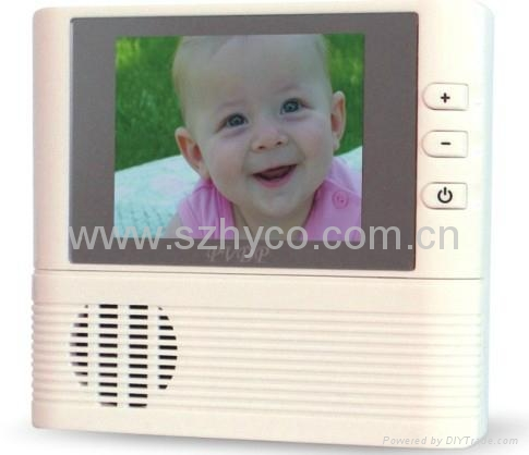 2.8 inch electronic peephole viewer with 3X digital zoom & doorbell function 4