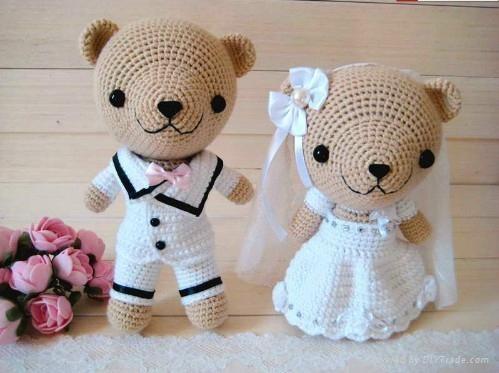 Crochet Wedding Gift 013 - Crochet Wedding Gift