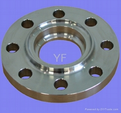 aluminum forged tank truck flange