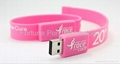 USB Bracelet Flash Drive 1GB