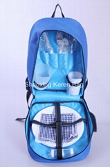 2012 Fashion Outdoor Picnic Backpack for 4