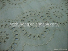 plain embroidery fabric