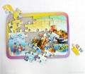 Customized IQ Paper Print Jigsaw Puzzles  5