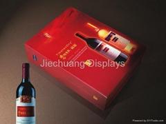 Premium custom cardboard wine packing box