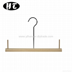 HW-06 self-colored wooden dresses hangers