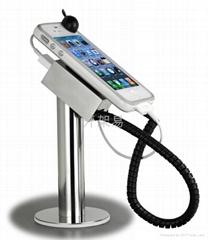 不锈钢手机防盗充电展示架