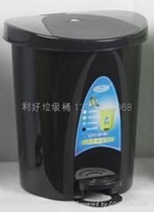 塑料脚踏式垃圾桶