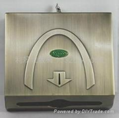 不锈钢方形纸巾盒
