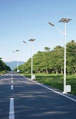 2012 New super Brightness LED Solar Street Light