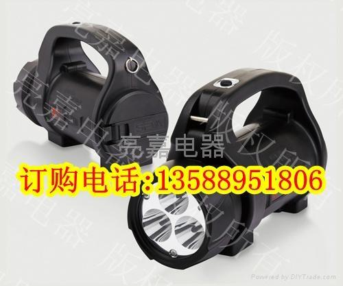 SW2500手搖充電手提式探照燈 1