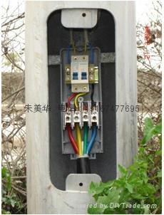 路灯接线分支专用灌胶式防水接线盒 5
