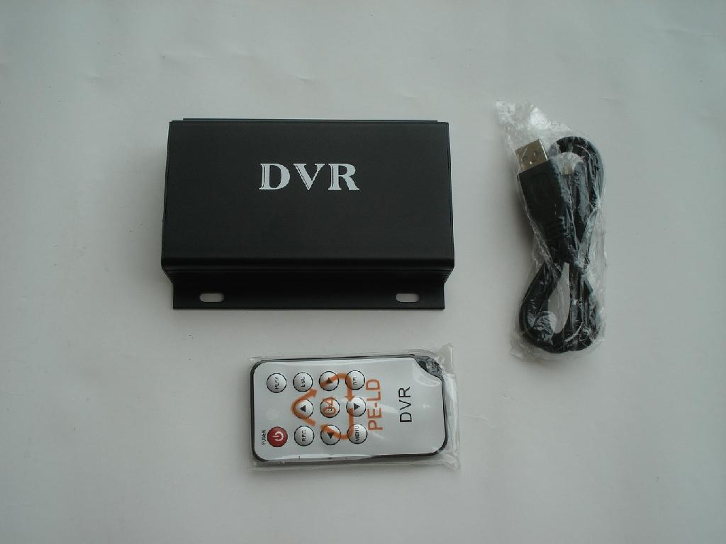 MINI CAR SD DVR 32GB UP to D1 pixels,Real-time video motion detection,2CH AV in 1