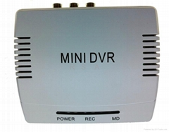 2CH SD MINI DVR D1 Intelligent Motion Detection 32GB with audio/Video Outlet