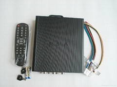 Mobile DVR H.264 Support 4CH CIF Real Time Video up to D1 standard,GPS/3G/WIFI