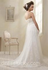wedding dress bridal gown evening dress formal gown