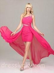 allure hi lo prom dresses cocktail dress wedding dress free shipping